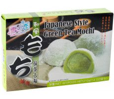 Mochi Green Tea (Japanese rice cake) 210 GR