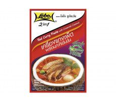 Spice paste Curry red + coconutmilk 100 GR