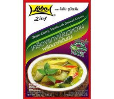 Spicepaste Curry green + coconut milk 100 GR