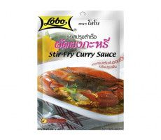 Stir-fry curry sauce  50 GR