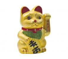 Ceramic Waving Cat  (17,5 cm) 380 GR