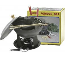 Iron Fondue Set 4000 GR