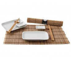 Sushi Dinner Set (brown) 1280 GR