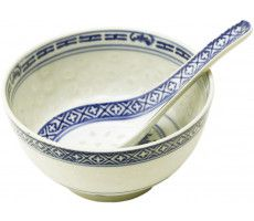 Rice Bowl & Spoon 225 GR