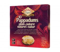 Pappadums plain 100 GR (10 Pieces)
