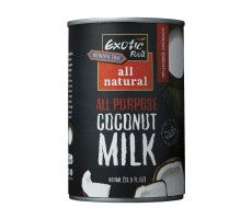 All Natural Coconut Milk 18% 400 GR