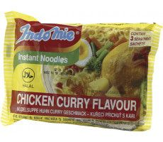 Instant Chicken Curry Noodles 80 GR
