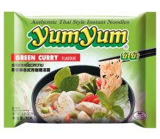 Instant Green Curry Noodles 70 GR