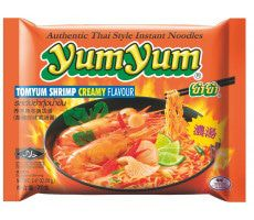 Instant Tom Yum Shrimp Creamy Noodles 70 GR