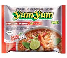Instant Tom Yum Shrimp Noodles 60 GR