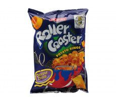 """Roller Coaster"" Potato-Cheese Rings 85 GR"