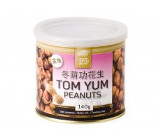 Peanuts coated with Tom Yum 140 GR