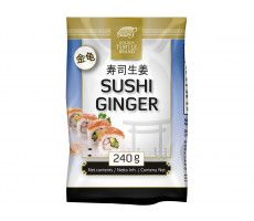 Sushi ginger white 240 GR