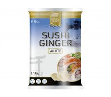 Sushi ginger white 1500 GR
