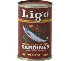 Sardines in Tomato Sauce & Chilli (Hot) 155 GR