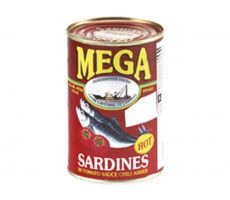 Sardines in Tomato Sauce & Chilli (Hot) 425 GR