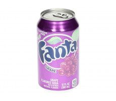 Fanta Grape Soda 355 GR
