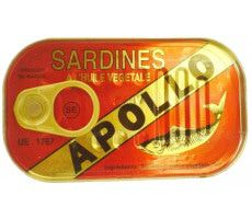 Sardines in vegetable oil