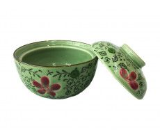 Soup bowl with cover multicolour