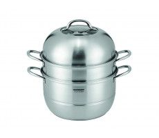 Steamer 30 cm 3 layer stainless steel