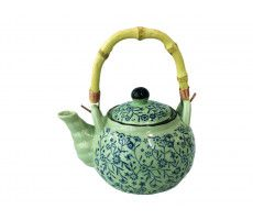 Tea pot blue 600 ml